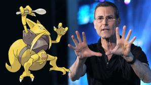 """Kadabra: Pokémon-Figur wieder erlaubt Der Streit ist vorbei: Uri Geller erlaubte Nintendo wieder, die Pokémon-Karte """"Kadabra"""" zu drucken.©VCG / Getty Images, Pokémon. TM, ®Nintendo."""