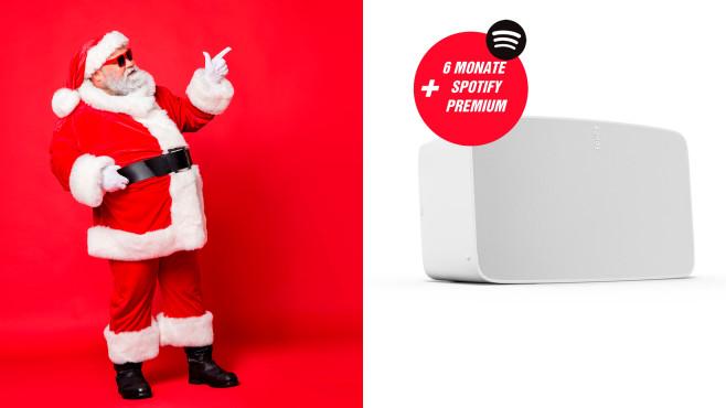 Sonos Five + 6 Monate Spotify Premium©istock/Deagreez, Sonos