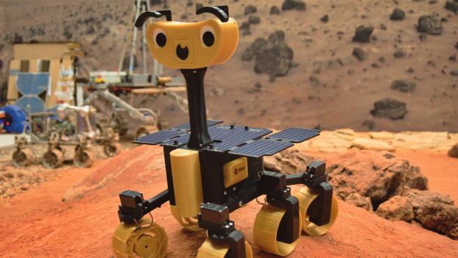Mars-Rover ExoMy©ESA