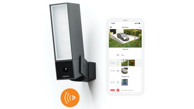 Netatmo Smarte Außenkamera mit Alarmsirene, plus Handy-App©Netatmo