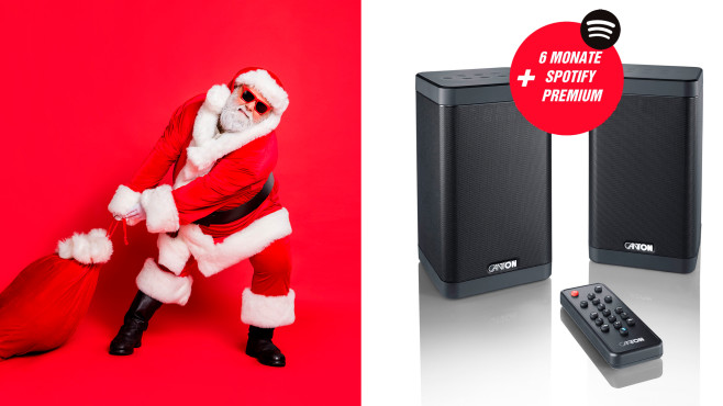 Canton Smart Soundbox 3 + 6 Monate Spotify Premium©istock/Deagreez, Canton