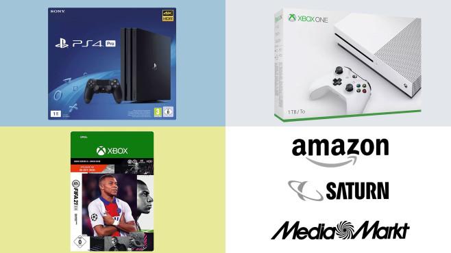 Amazon, Media Markt, Saturn: Top-Deals des Tages!©Saturn, Media Markt, Amazon, Microsoft, Sony, Electronic Arts