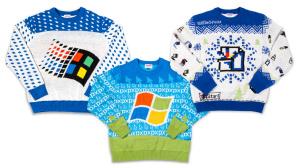 Weihnachtspullover von Microsoft©Microsoft