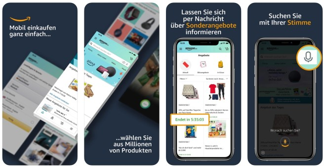 Amazon App Weihnachten 2020 Test © Amazon