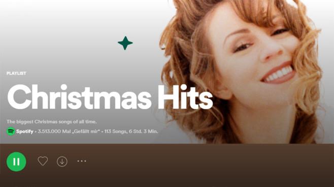 Spotify Christmas Hits©Spotify