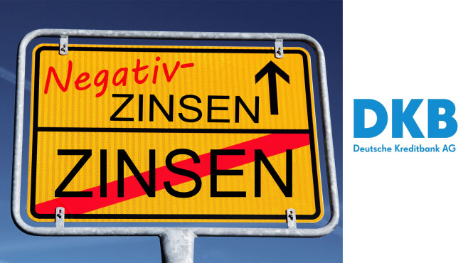 """Verwahrentgelt: DKB führt """"Strafzinsen"""" ein Jetzt sind sie auch bei der DKB angekommen: die Negativ-Zinsen.©iStock.com/Astrid860, DKB"""