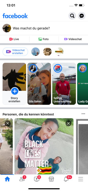 Facebook (App für iPhone & iPad)