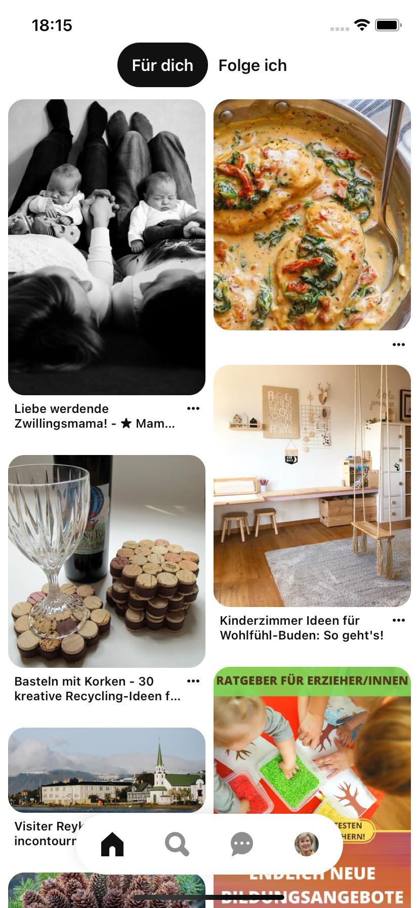 Screenshot 1 - Pinterest (App für iPhone & iPad)