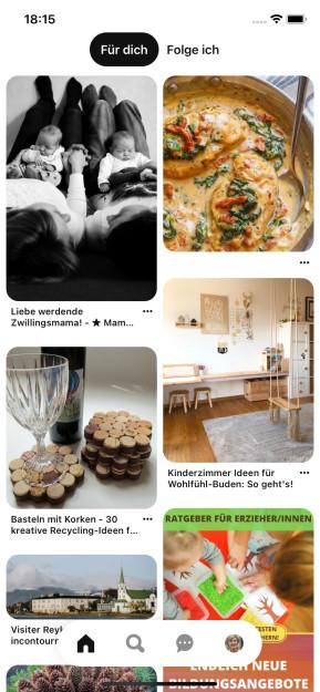 Pinterest (App für iPhone & iPad)