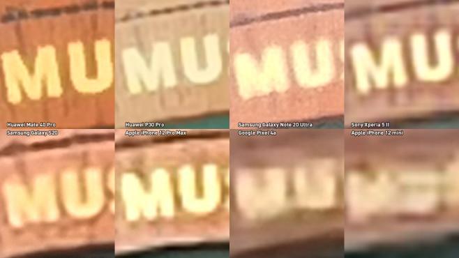 Handy-Zoom-Vergleich©COMPUTER BILD / Michael Huch