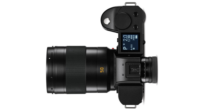 Leica SL2-S Oberseite©Leica Camera