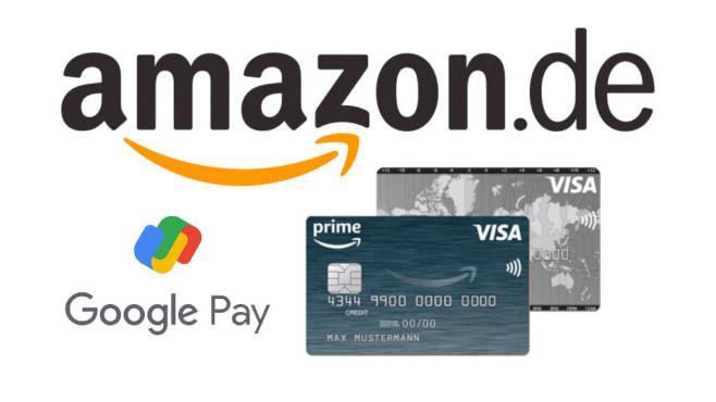 Amazon Visa Card: Support für Google Pay ist da - COMPUTER BILD