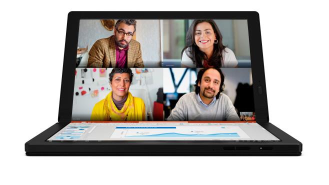 Lenovo ThinkPad X1 Fold vor weißem Hintergrund©Lenovo