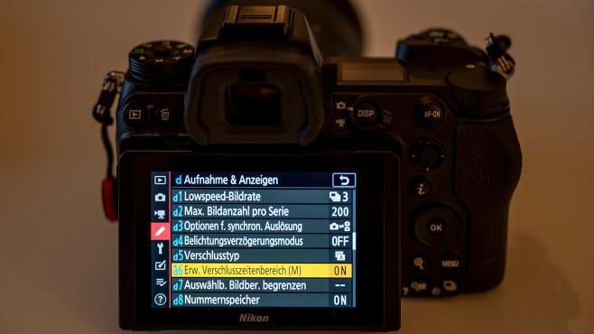 Nikon Z7 II Extrem lange Belichtungszeiten©COMPUTER BILD