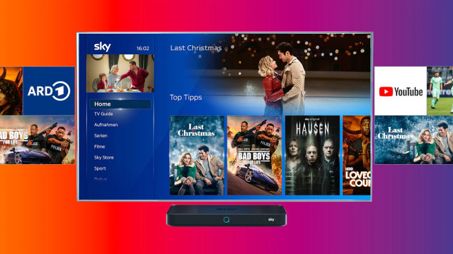 Sky- und Amazon-Prime-Video-Apps © Sky