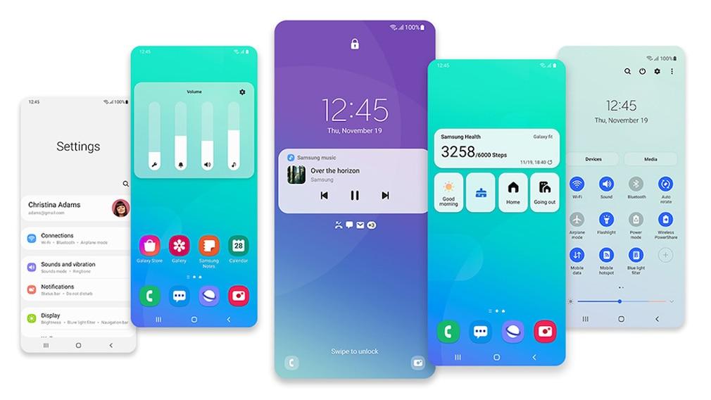 One UI 3.0 bei Samsung©Samsung