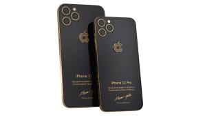 iPhone 12 Jobs 4 Gold©Caviar