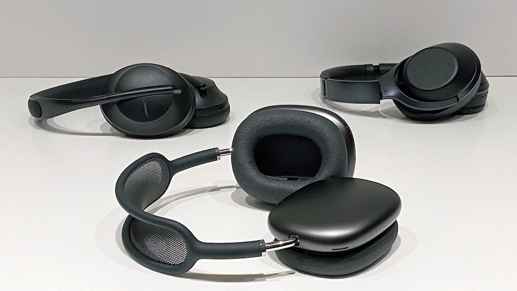 Die AirPods Max konnten den Vergleich mit den Bose NC700 und den Sony W-1000X für sich entscheiden.