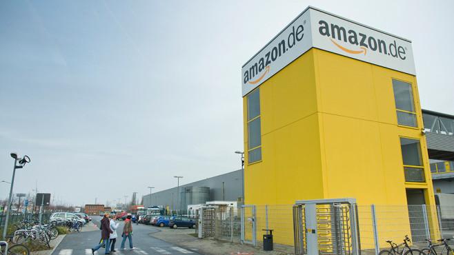 Eingang zu Amazon-Niederlassung©Amazon