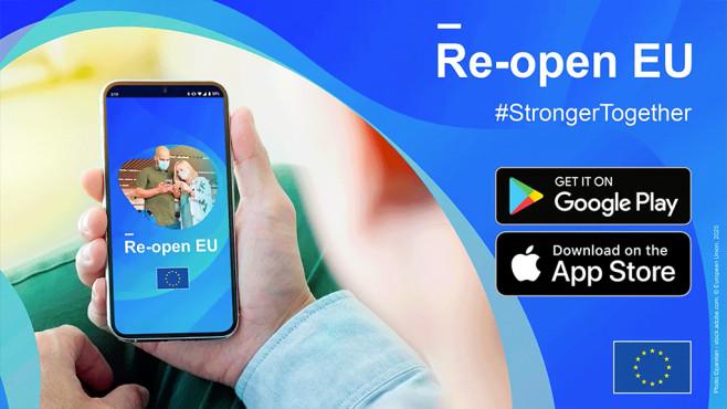 Die Corona-App Re-open EU©Europäische Union