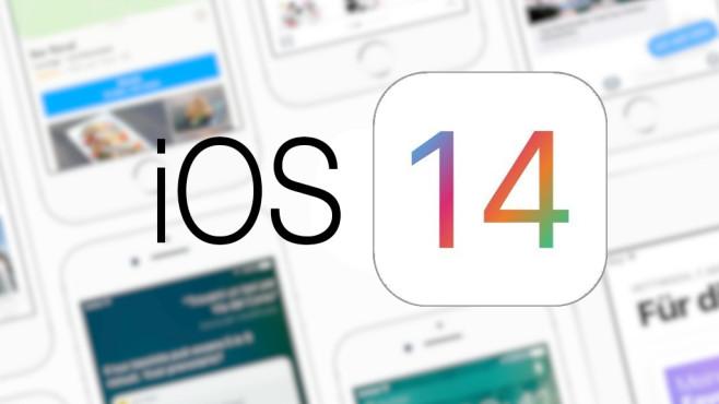 Das Logo von iOS 14©Apple