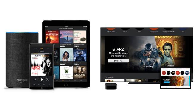 Amazon Audible und Prime Video Channels©Amazon