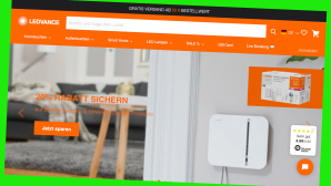 20 Prozent sparen: Smarte Technik bei Ledvance bestellen©Screenshot www.computeruniverse.net