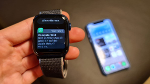 Apple Watch WhatsApp © COMPUTER BILD