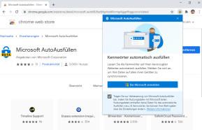 Microsoft AutoAusfüllen für Google Chrome