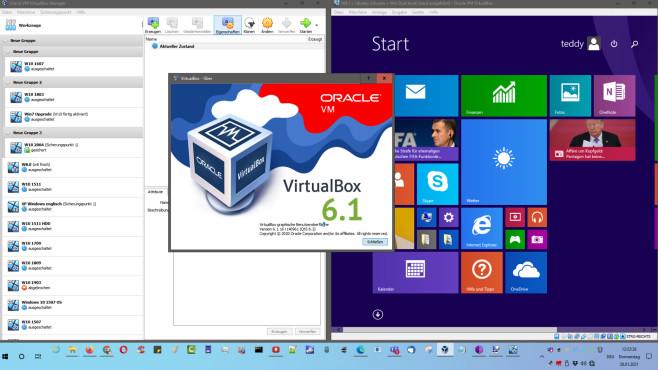 Virtuelle Maschinen: Die besten Tipps zu VirtualBox, XP-Modus, VMWare & Co. VirtualBox ist die beste und umfangreichste Gratis-Lösung für virtuelle Maschinen.©COMPUTER BILD