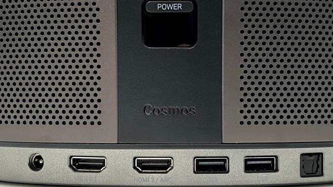 Einer der beiden HDMI-Eingänge vom Nebula Cosmos ist auch Tonausgang (HDMI CEC).©COMPUTER BILD