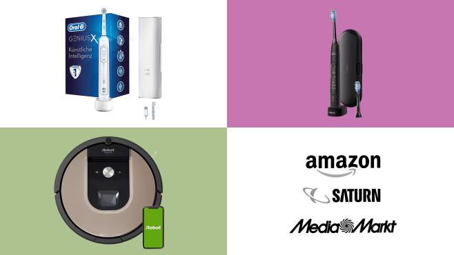 Amazon, Media Markt, Saturn: Top-Deals des Tages!©Amazon, Media Markt, Saturn, Philips, Oral-B, iRobot