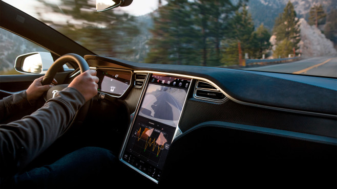 Tesla: Apple Music, Amazon Music & Co. im Anmarsch Streaming-Nachwuchs bei Tesla: Der US-Autobauer will wohl in Kürze weitere Dienste in sein System integrieren.©Tesla