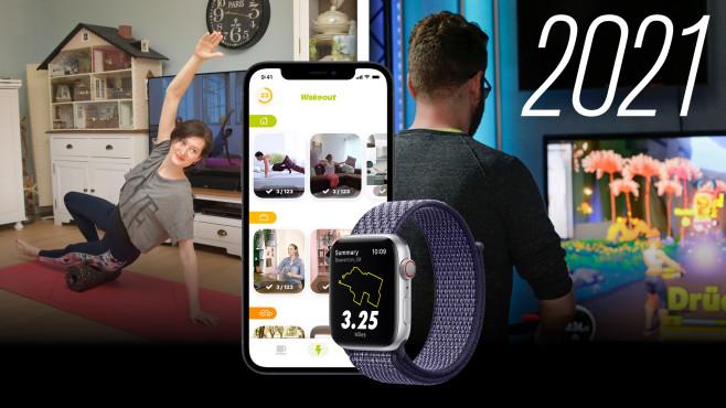 Fit ins Jahr 2021©COMPUTER BILD, Apple