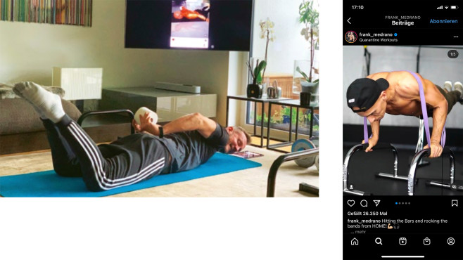 Georg Oevermann Sport mit Instagram©Instagram, COMPUTER BILD