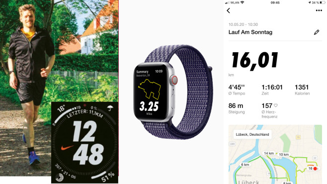 Nike Run Club©COMPUTER BILD, Apple, Screenshots Nike Run Club App