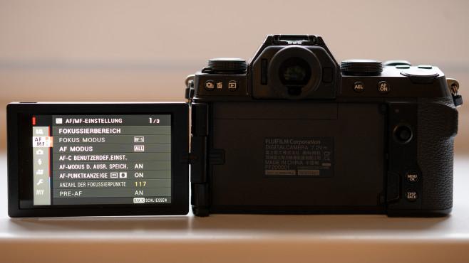 Fujifilm X-S10 AF-Einstellungen im Menü©COMPUTER BILD