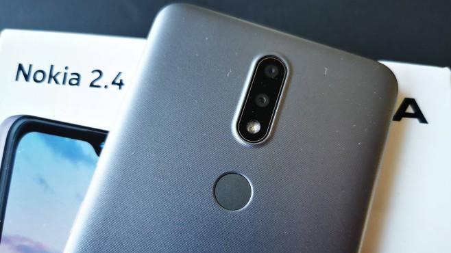 Nokia 2.4 Rückseite im Detail©COMPUTER BILD / Michael Huch