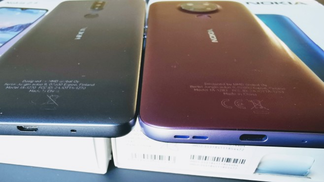 Nokia 2.4 vs Nokia 3.4©COMPUTER BILD / Michael Huch