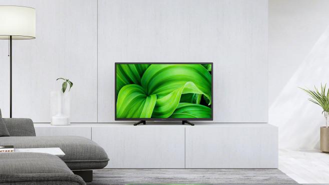 Der Sony KD-32W800 ist mit 80 Zentimetern Bildschirmdiagonale der kleinste neue Sony-Fernseher.©Sony