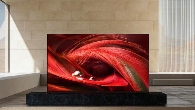 Der Sony X95J soll dank verbesserter Lichtquelle hinter dem LCD-Bildschirm (Backlight) besonders brillante Bilder liefern.©Sony