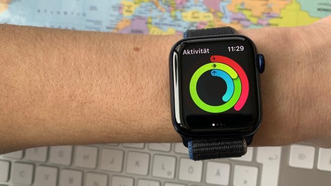 watchOS mit Time to Walk Funktion?©COMPUTER BILD