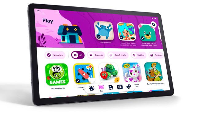 Auf dem Lenovo Tab P11 läuft der Google Kids Space©Lenovo