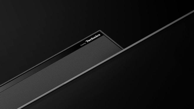Die Lautsprecher im OLED-Fernseher JZW2004 steuert die Panasonic-Tochter Technics bei.©Panasonic