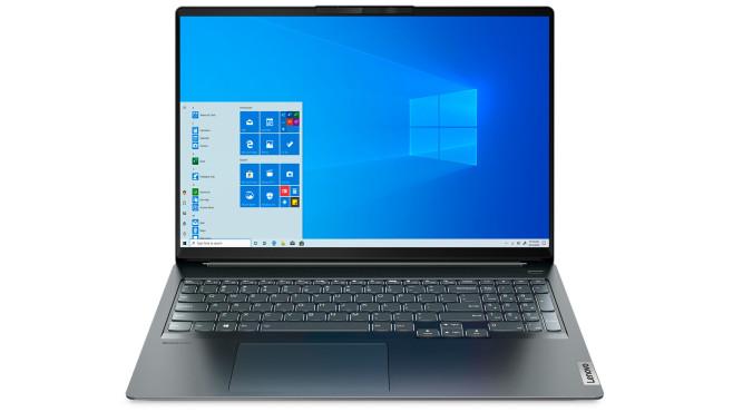 Das Lenovo IdeaPad 5i Pro vor weißem Hintergrund©Lenovo