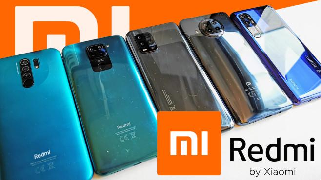 Xiaomi und Redmi Vergleichstest©COMPUTER BILD / Xiaomi / Michael Huch