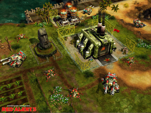 Strategiespiel Command & Conquer – Alarmstufe Rot 3: Osterinsel