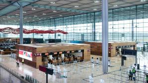 Terminal 1 des Flughafens BER©Anikka Bauer/ Flughafen Berlin Brandenburg GmbH