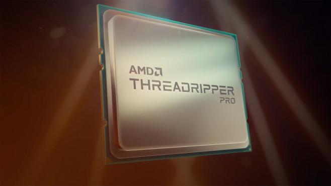 AMD Ryzen Threadripper Pro Prozessor mit bis 64 Kernen©AMD