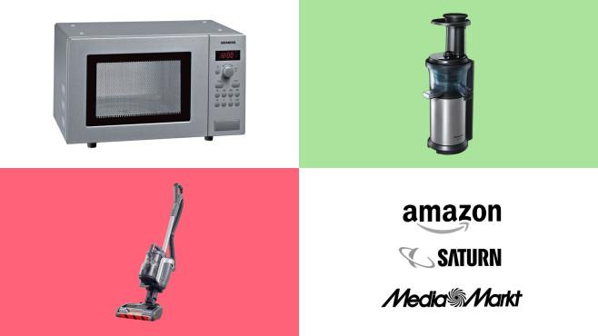 Amazon, Media Markt, Saturn: Top-Deals des Tages!©Amazon, Media Markt, Saturn, Siemens, Panasonic, Shark